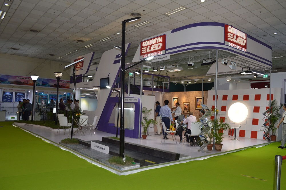 Goldwyn Lighting India Exhibition 2014